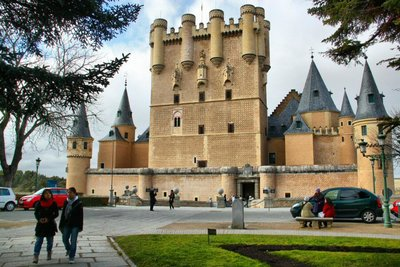 Segovia Alcazar Castle Spain
